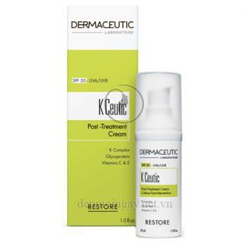 Kem chống nắng phục hồi da sau phẩu thuật Dermaceutic K Ceutic Post Treatment Cream