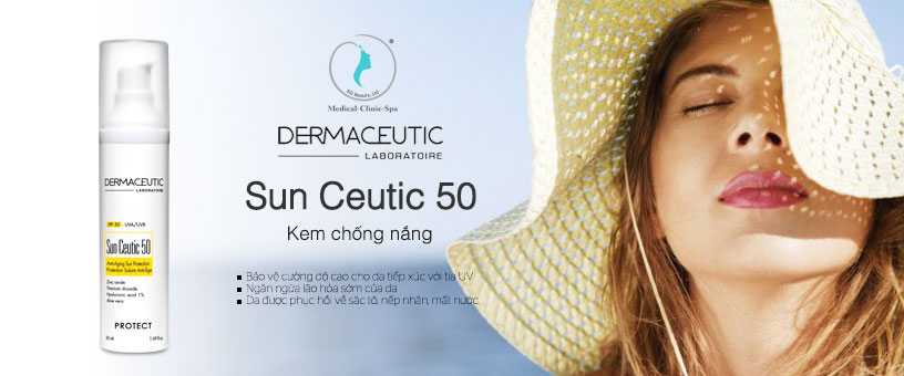 Công dụng của kem chống nắng Dermaceutic Sun Ceutic 50