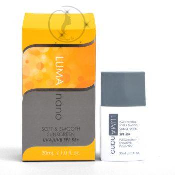 Kem chống nắng Luma Nano Soft and Smooth Suncreen SPF55+ 30ml