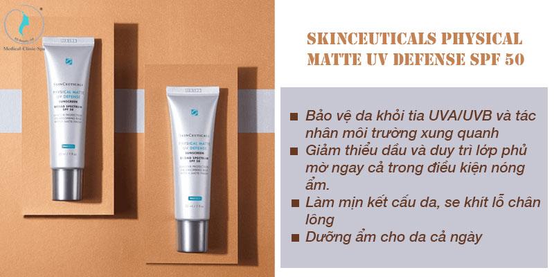Công dụng của SkinCeuticals Physical Matte UV Defense SPF 50